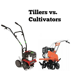 tillers vs cultivators