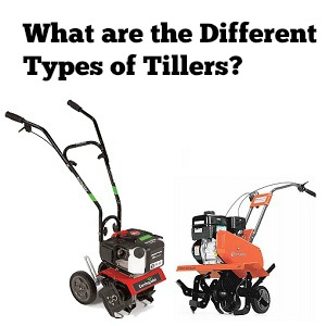 what are the different types of tillers