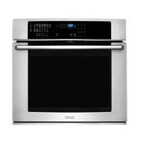 electrolux wall oven full
