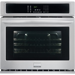 frigidaire wall oven full