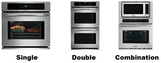 single double combination wall oven