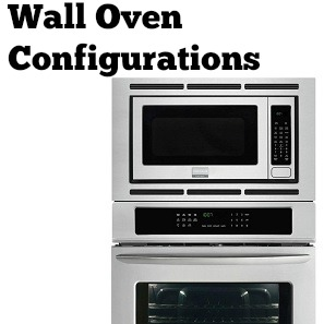 wall oven configurations