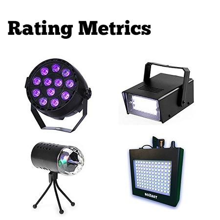 best strobe light rating metrics