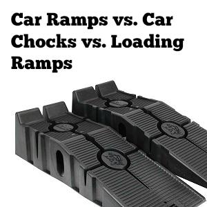 best car ramp car ramps vs chocks vs loading