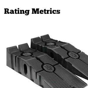 best car ramp rating metrics