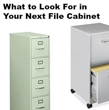 best file cabinet what to look for