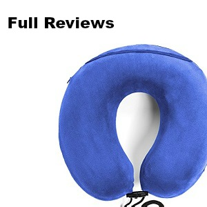 best travel pillow full reviews
