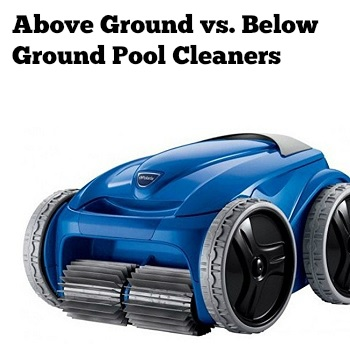 best robotic pool cleaner above ground vs below ground