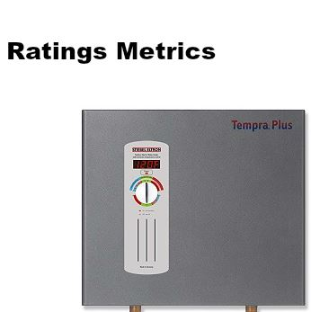 best tankless water heater rating metrics