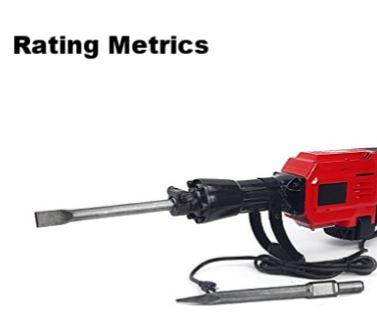 best demolition hammer rating metrics