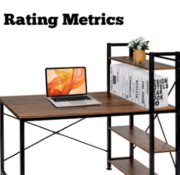 best study table rating metrics