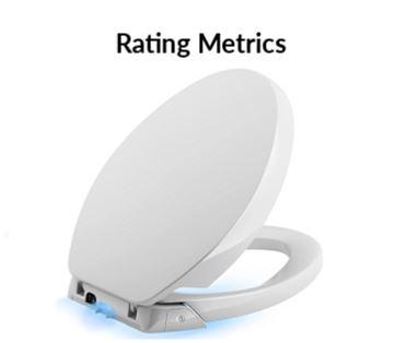 best heated toilet seat rating metrics